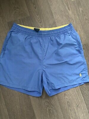 £6.30 • Buy Polo Ralph Lauren Mens Blue Swimming Shorts - Size: Large