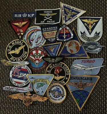$69.99 • Buy Military Air And Airline Patches Lot Of 23