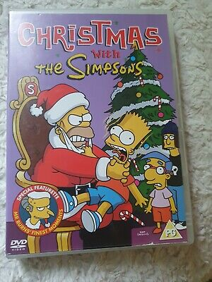 £0.06 • Buy Christmas With The Simpsons Dvd