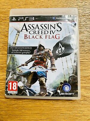 £1.99 • Buy Sony PlayStation 3 (PS3) Game - Assassins Creed 4 Black Flag - No Booklet