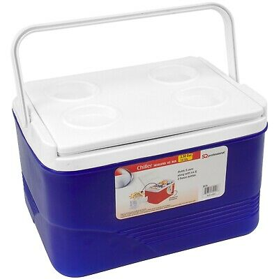 £19.99 • Buy Ice Chest Cooler Box Large Camping Picnic Insulated Food Cool Box 14 Litre