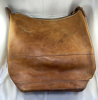 $115 • Buy Vintage Post Office Rural Route Carrier Leather Pouch