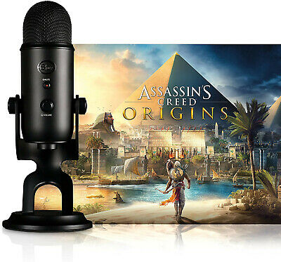 £15 • Buy Blue Yeti Microphone Assassins Creed Black Edition - Used