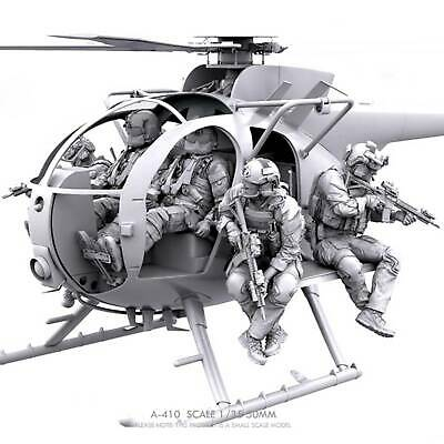 £27.99 • Buy 1/35 Resin US Helicopter Crew NO PLANE NO GUIDE 6 Figure Unpainted Unassembled