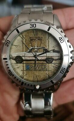 £49.99 • Buy Rover P6 One Off Prototype Mens Watch Created For Approval By British Heritage