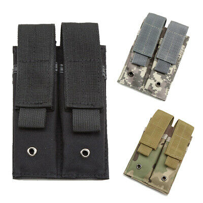 $8.89 • Buy Military Magazine Pouch Tactical Double Pistol Magazine Case Mag Holder Hunting