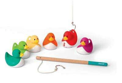 £20.49 • Buy Janod DUCKY FISHING GAME Kids Children's Activity Bathtime Water Toy 2 Yrs+ BN