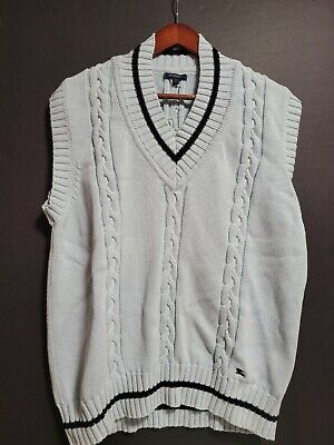 $39 • Buy Burberry Chunky Knot Vest Large Italy