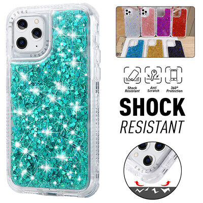 AU12.99 • Buy For IPhone 13 12 11 Pro Max XR X/XS 8/7 Plus Bling Glitter Case Shockproof Cover