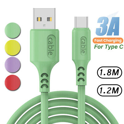 AU8.96 • Buy Fast Charge Cord USB C Type C Charger Cable For Samsung S9 Android Mobile Phone