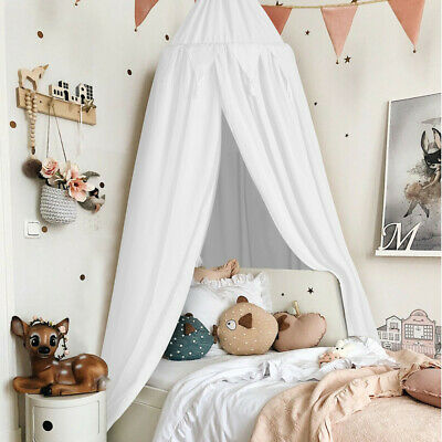 £21.92 • Buy Kids Baby Bed Canopy Bedcover Mosquito Net Curtain Bedding Dome Tent Cotton UK