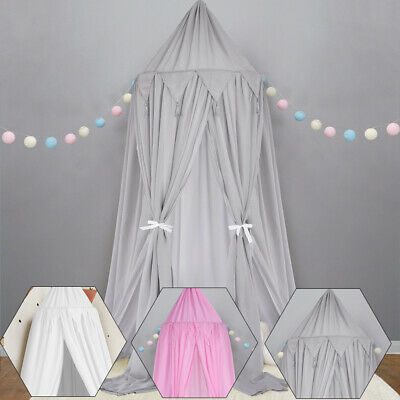 £19.98 • Buy Kids Girls Bed Canopy Mosquito Net Bedcover Curtain Dome Tent Bedroom Netting