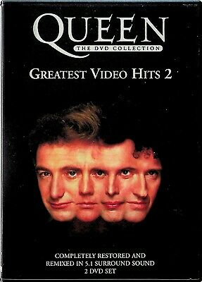 £7.99 • Buy QUEEN -Greatest Video Hits Vol. 2 -The Collection 2-DVD -Best Of/Freddie Mercury