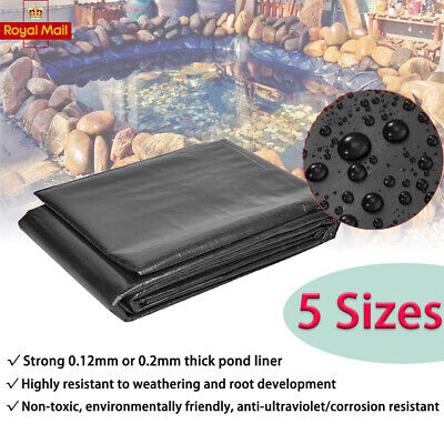 £9.66 • Buy High Quality UK Fish Pond Liners 40 Year Guarantee Multi-size Pond Liners UK