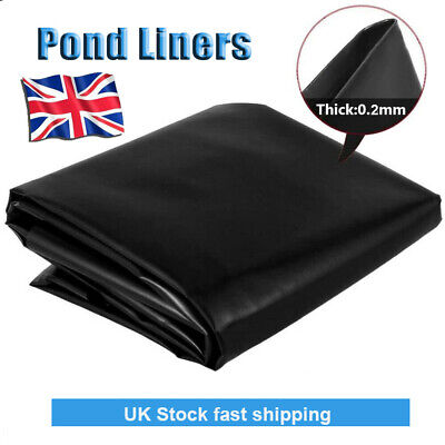 £11.59 • Buy Fish Pond Liners HDPE Membrane 40 Years Warranty Multi-size Fish Pond Liners