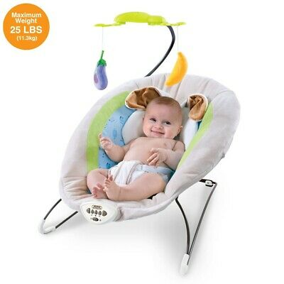 £34.88 • Buy Baby Electric Bouncer Swing Chair Cradle Rocker Seat Rocking With Music And Toy