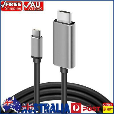 AU18.96 • Buy USB 3.1 Type C To HDMI-Compatible 2.0 Cable 4K 60Hz Male To Male Cord 6ft AU