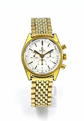 $ CDN836.39 • Buy VINTAGE OMEGA DEVILLE 145.018 CHRONOGRAPH WRISTWATCH GOLD FILL STAINLESS C1968