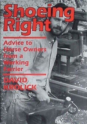 £7.91 • Buy Horse Shoeing Done Right, 1991 Book (advice From Working Farrier