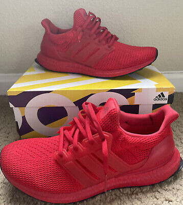 AU122.43 • Buy Adidas Ultra Boost DNA Scarlet Red Men's Running Shoes Size 10.5 FY7123 MINT