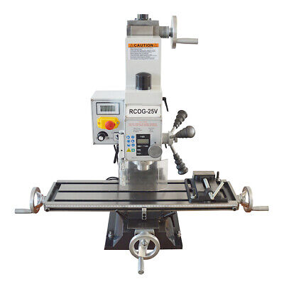 $2005 • Buy RCOG-25V Precision Mill/Drill Bench Top Mill And Drilling Machine 110V 27*7