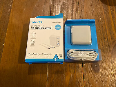 AU16.33 • Buy Anker PowerPort C2 Port Charger W/6ft USB-A To USB-C Cable  063
