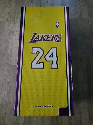$495.95 • Buy Enterbay NBA Kobe Bryant 1/6 Scale 12 Inch Figure Duo Pack Re-Edition Pre Owned.