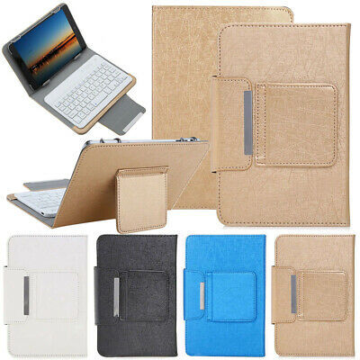 £18.49 • Buy Wireless Keyboard Case Leather PU Cover For Samsung Galaxy Tab A 7.0 10.1 Tablet