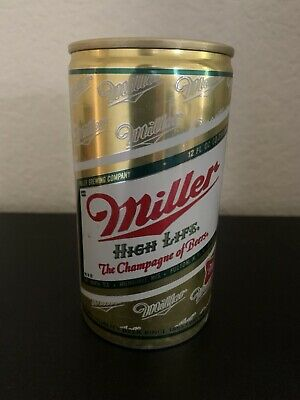 $9.95 • Buy MILLER HIGH LIFE Flat Top Beer Can Exc Cond Old Beer Can The Champagne Of Beers