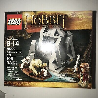 £25.17 • Buy RARE NEW LEGO The Hobbit Riddles For The Ring (79000) 105 Pieces Factory Sealed