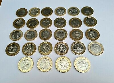 £64.99 • Buy 2 Pound Coin Job Lot £2 Coin Collection 28x Two Pounds Rare  #coinhunt