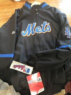 $25 • Buy NY Mets Majestic Authentic Jacket Brand New W/tags