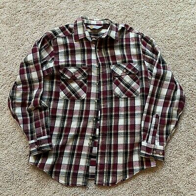 $35 • Buy Vintage Carhartt Made In USA Flannel Size Large