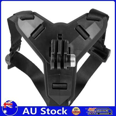 AU8.99 • Buy Motorcycle Helmet Chin Strap Mount For GoPro Xiaomi Yi OSMO Action (Black)