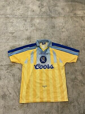 £1.20 • Buy Chelsea 1996 Umbro Shirt Coors Vialli Perfect Condition Size Large