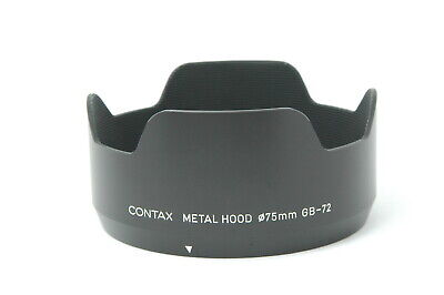 $ CDN200.61 • Buy [Almost MINT] CONTAX Metal Lens Hood GB-72 For 645 80mm 55mm Lens From JAPAN G08