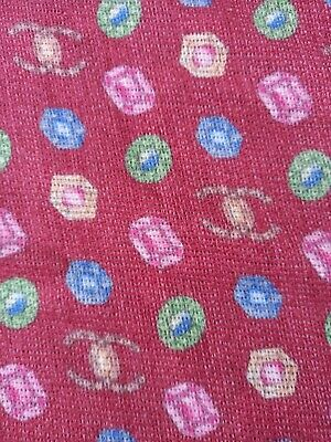 £0.71 • Buy Authentic Designer Made In Italy Pure Wool Knit Fabric Cm 200x140