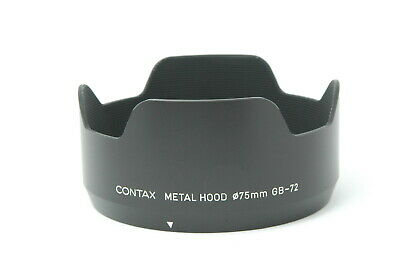$ CDN218.91 • Buy [Almost MINT] CONTAX Metal Lens Hood GB-72 For 645 80mm 55mm Lens From JAPAN G08