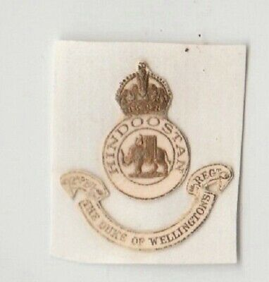 £1.20 • Buy 2nd Bn Duke Of Wellington's Regiment West Riding Yorkshire Army Paper Crest