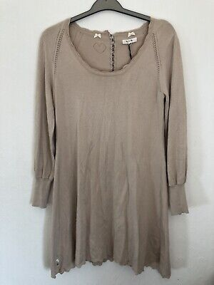 £43 • Buy Designed BY TI MO Size M Beige Blend Dress Buttons NWT £149 New