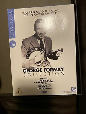 £5 • Buy George Formby Collection Vol.1 (DVD, 2007, 4-Disc Set, Box Set)