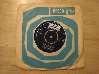 £2.50 • Buy 7  THE MARMALADE Reflections Of My Life/Rollin' My Thing- 1969 DECCA F 12982