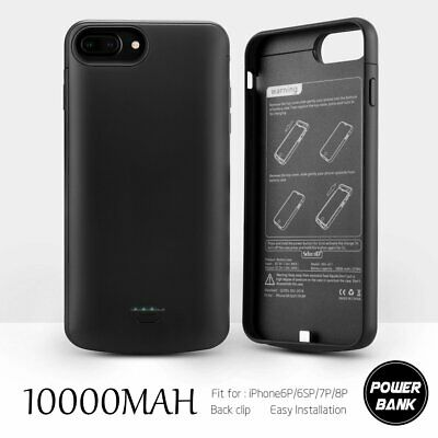 £17.38 • Buy 10000mAh Battery Charger Case Power Cover External For IPhone6/7/8 Plus Charging