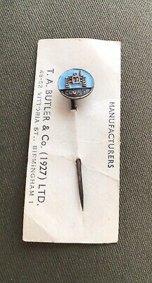 £5 • Buy Vintage Lapel Pin Badge COUNTY Tractor By Butler