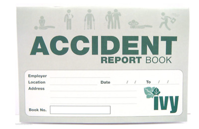 £4.29 • Buy Accident Report Book - First Aid Injury Record School Office