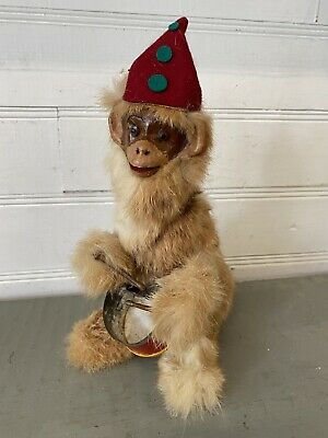 £71.96 • Buy Roullet Decamps Wind-Up Monkey Drummer Automaton Mechanical Toy