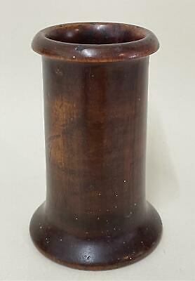 £19.99 • Buy Antique Dice Shaker - Turned Wood, Great Patina