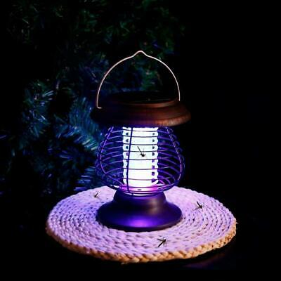 £20.90 • Buy Solar Powered Outdoor Mosquito Fly Bug Insect Zapper Killer Trap Lamp Light