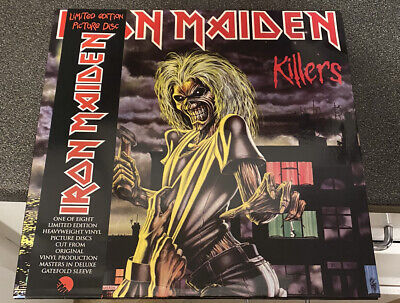£28 • Buy Iron Maiden - Second Album Killers - Limited Edition Picture Disc - Vinyl