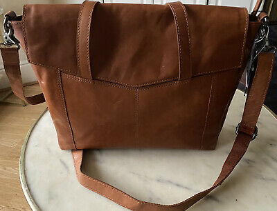 £79.99 • Buy Spikes And Sparrow Tan Leather Handbag/laptop Bag/authentic/NEW WITH TAG/Genuine